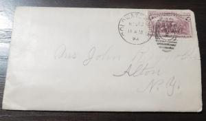 US 1893 2c Columbian Scott 231 Cover with contents F