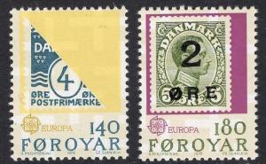 Faroe Islands   #43-44   1979  MNH Europa