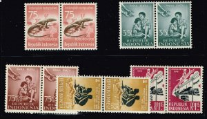 INDONESIA STAMP MNH STAMPS COLLECTION LOT  #4