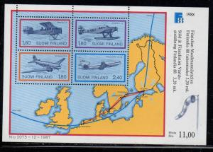 Finland Sc 773 1988 Finlandia 88 stamp sheet mint NH
