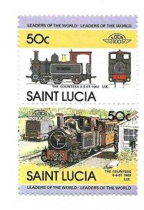 ST Lucia 1984 - MNH - Scott #676 *