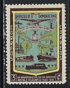 Dominican Repubic 381 MOG Z6200-2
