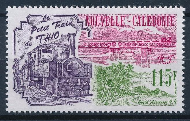 [63561] New Caledonia 1993 Railway Train Eisenbahn Chemin de Fer  MNH