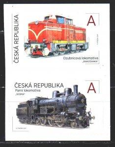 Czech Republic. 2017. 929-30. Trains. MNH.