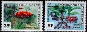 New Caledonia (NCE) Scott C110-C171 MH* Flowering plant set 1981