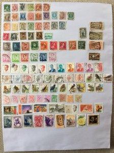 Belgium 100+ stamps - Lot D