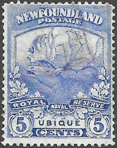 Newfoundland Scott Number 119 F Used