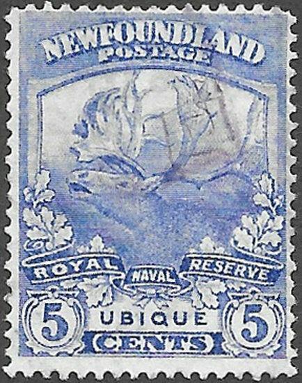 Newfoundland Scott Number 119 F Used
