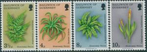Guernsey 1975 SG122-125 Ferns set MNH