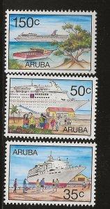 ARUBA  SC #  151 - 3    MNH