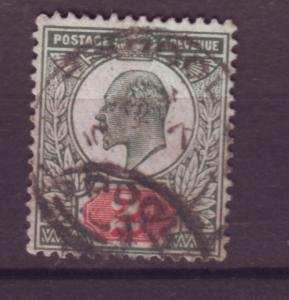 J17669 JLstamps 1902-11 great britain used #130b KEVII