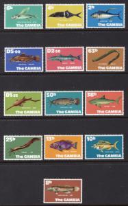 GAMBIA SCOTT 253-265