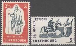 Luxembourg #357-8  MNH F-VF (SU2634)
