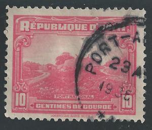 Haiti #329 10c Fort National