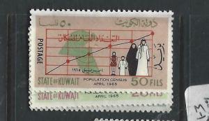 KUWAIT  (P0305B)  CENSUS   SG 273-5   MNG