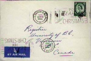 Great Britain, Airmail, Christmas