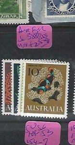 AUSTRALIA (P1811B)  FISH  SG 388, 389-91   MNH