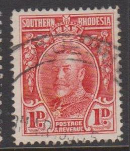 Southern Rhodesia Sc#17 Used