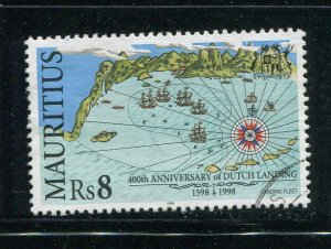 Mauritius #866 used  - Make Me A Reasonable Offer