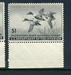 Scott #RW12 Federal Duck Stamp Mint  Stamp NH (Stock #RW12-4)