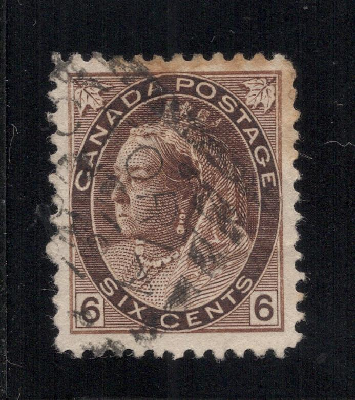 #80 - 6 Cents Brown - Used