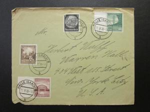 Germany 1938 Cover to NYC - Z6819