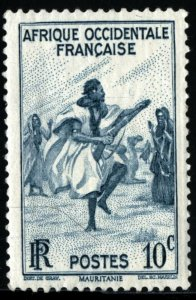 FRENCH WEST AFRICA #36, MINT NH - 1947 - FWA002