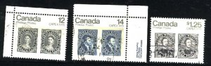 Can #753-54,756i   -1  used VF 1978 PD