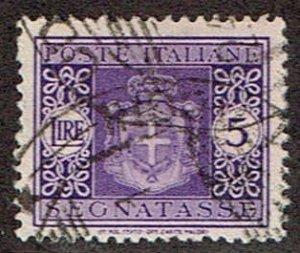 Italy # J62  Used