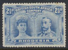 British South Africa Company / Rhodesia  SG 133 MH  see details