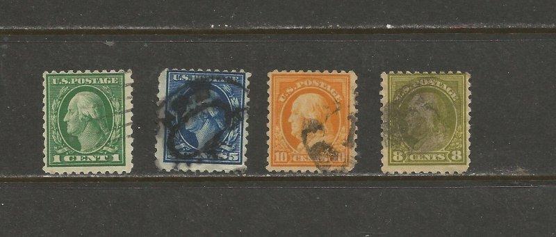 USA Postage Stamps Used
