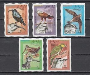 Sahara MNH Set Birds 1993