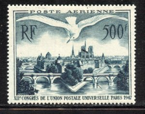 France, # C22, Mint Hinge. CV $ 45.00