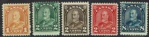 CANADA 1930 KGV RANGE TO 8C