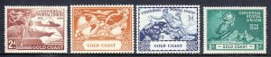 Gold Coast - Scott #144-147 - MNH - SCV $3.05