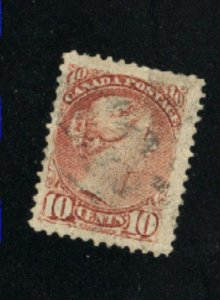 Canada #40  used  VF 1877   PD