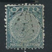 Fiji  QV SG 86     perf 11 Used