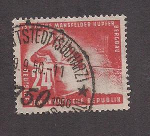 GERMANY - DDR SC# 69 F-VF U 1950