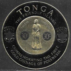 Tonga Scott # CO8 MNH