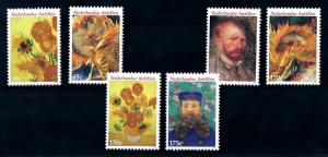 [94705] Netherlands Antiles 2005 Art Paintings Van Gogh Sunflowers  MNH