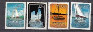 J27599 1983 tonga set mh #555-8 sports