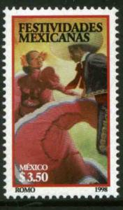 MEXICO 2066, Mexican Festivities (JOINT ISSUE WITH U.S.). MINT, NH. VF.