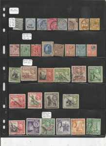MALTA COLLECTION ON STOCK SHEET, MINT/USED