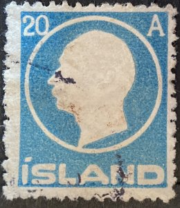 AlexStamps ICELAND #94 VF Used