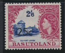 Basutoland  SG 66a   Mint Never Hinged  - Opt surcharge  Type II