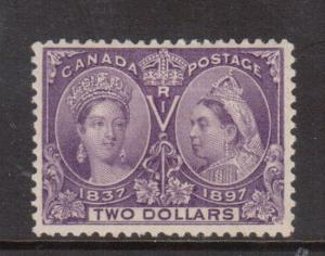 Canada #62 VF+ Mint **With Certificate**