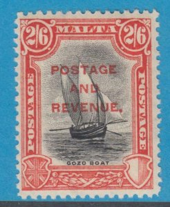 MALTA 163  MINT  HINGED OG * NO FAULTS EXTRA FINE !
