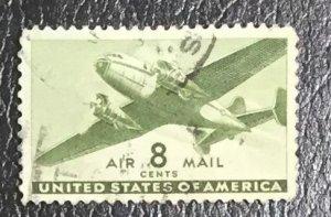 US #C26 Used F/VF - Airmail Plane