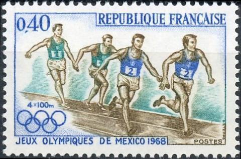 France #1223 40c Olympics 1963 - Mexico MNH