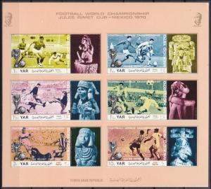 1970Yemen (Arab R. YAR )1166-1171KLb1970 World championship on football of Me